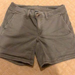Sage green super soft shorts